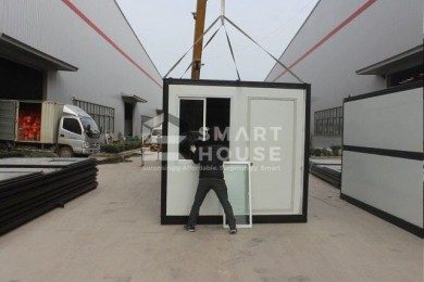 Patented Foldable Container House