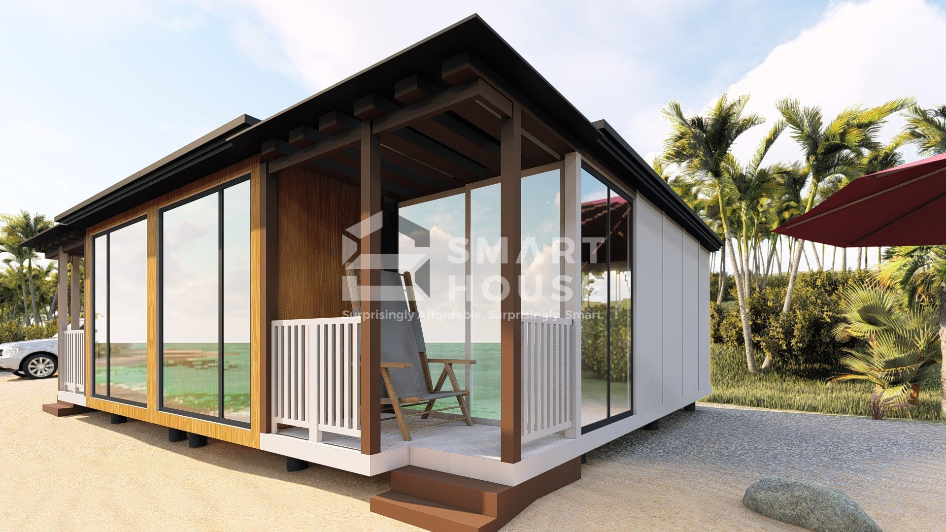 72 Sqms 2 Bedroom Villa Smarthouse
